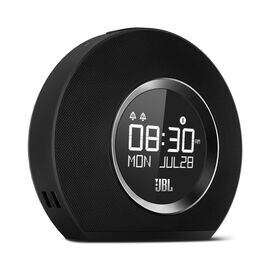 JBL Horizon - Black - Bluetooth clock radio with USB charging and ambient light - Hero