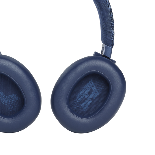 JBL Live 660NC - Blue - WIRELESS OVER-EAR NC HEADPHONES - Detailshot 3