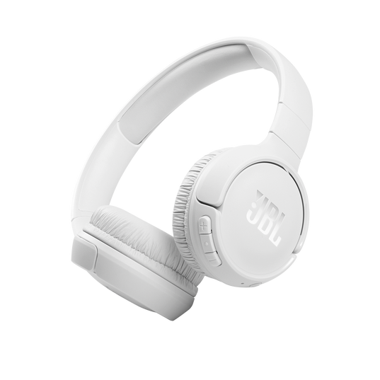 JBL Tune 510BT - White - Wireless on-ear headphones - Hero