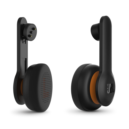 OR300 - Black - On-ear headphones designed for Oculus Rift with JBL Pure Bass sound - Hero
