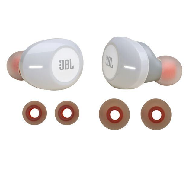 JBL TUNE 120TWS replacement kit - White - Ear buds and ear tips - Hero