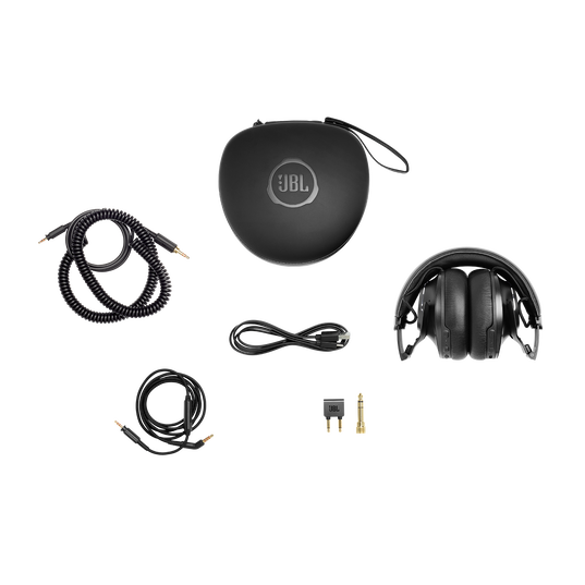 JBL CLUB ONE - Black - Wireless, over-ear, True Adaptive Noise Cancelling headphones inspired by pro musicians - Detailshot 7