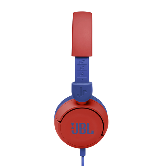 JBL Jr310 - Red - Kids on-ear Headphones - Detailshot 1
