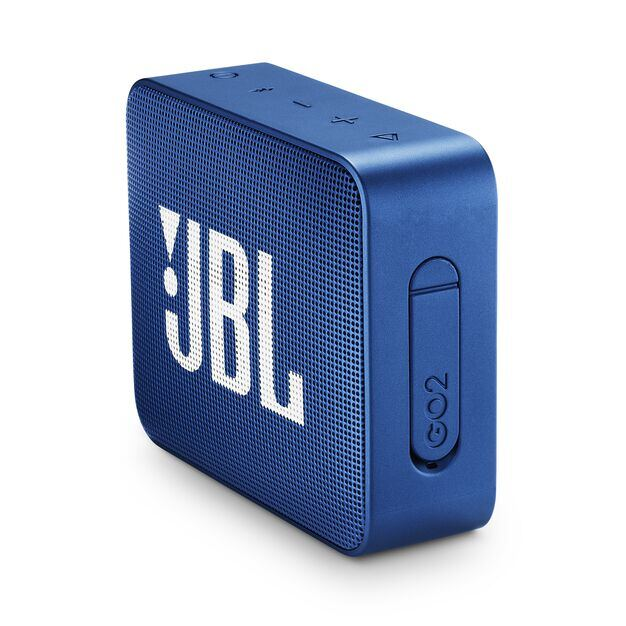 JBL GO 2 - Deep Sea Blue - Portable Bluetooth speaker - Detailshot 2