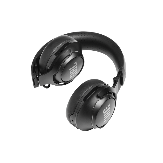 JBL CLUB 700BT - Black - Wireless on-ear headphones - Detailshot 4