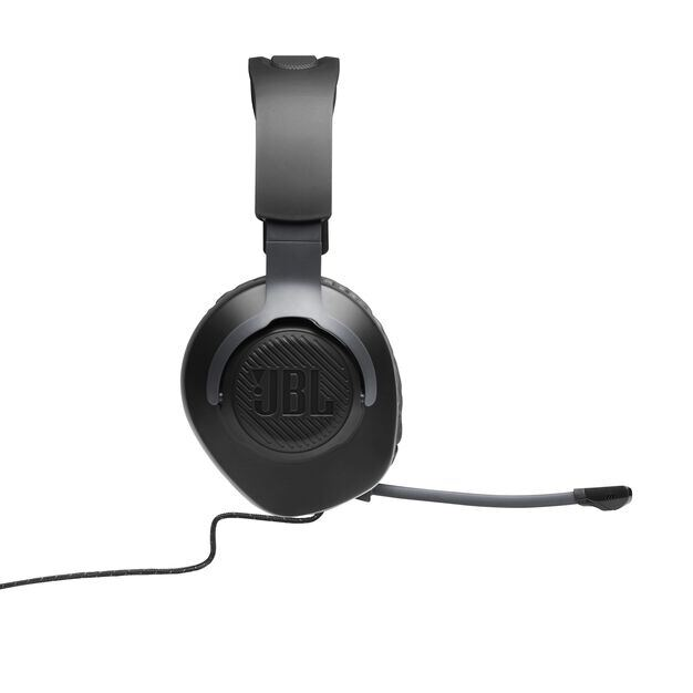 JBL Quantum 100 - Black - Wired over-ear gaming headset with a detachable mic - Detailshot 6