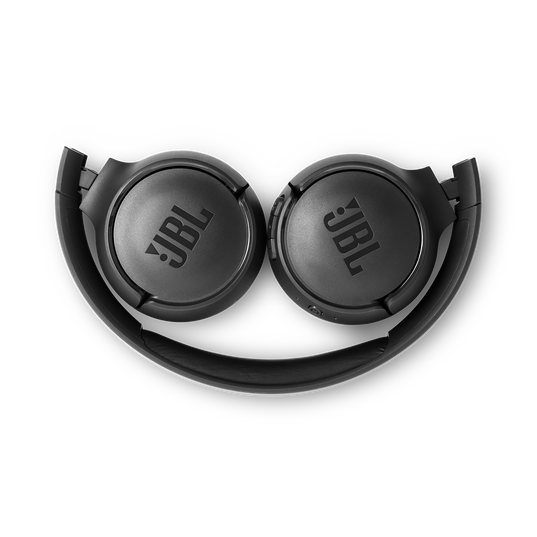 JBL TUNE 560BT - Black - Wireless on-ear headphones - Detailshot 3