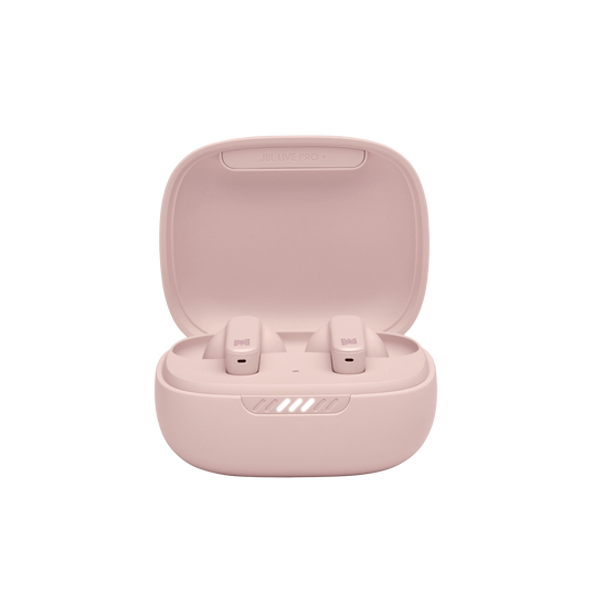 Live Pro+ TWS - Pink - True Wireless In-Ear NC Headphones - Detailshot 1