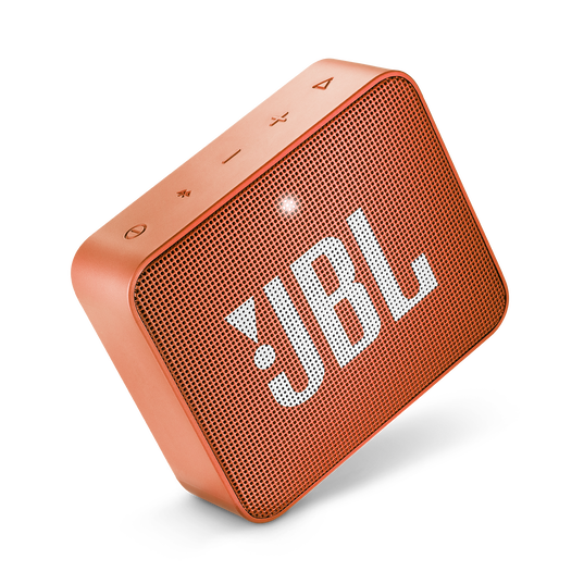 JBL GO 2 - Coral Orange - Portable Bluetooth speaker - Detailshot 1