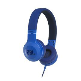 E35 - Blue - On-ear headphones - Hero