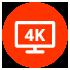 Een echte 4K connectiviteit met 3 HDMI-ingangen en HDMI-uitgangen (ARC)